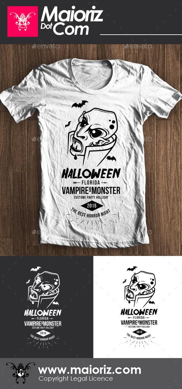 Halloween Vampire Tshirt