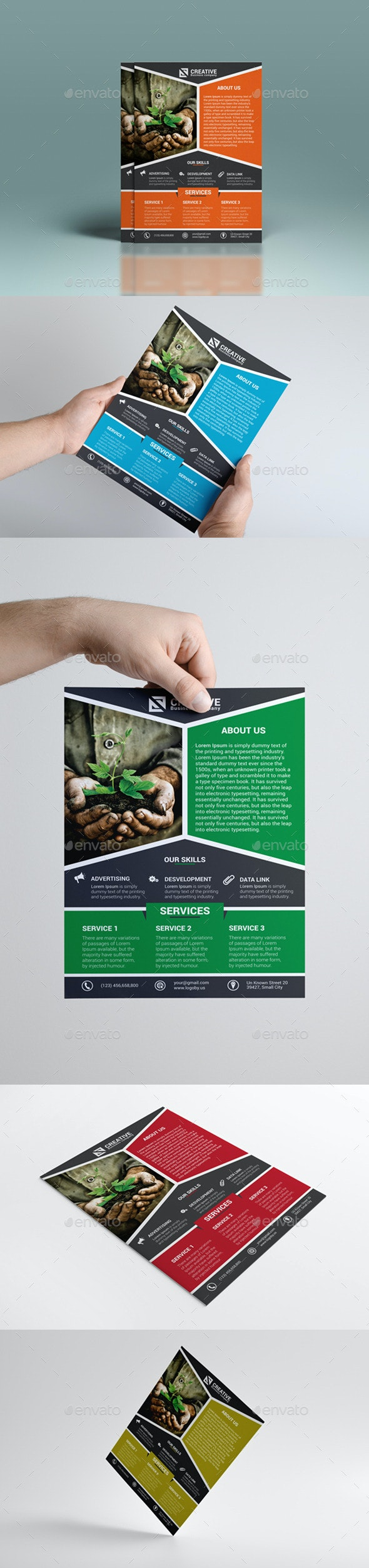 Corporate Business Flyer Vol 1 - Corporate Flyers