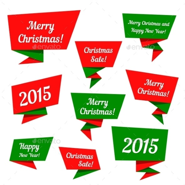Holiday Sale Vector Elements - Christmas Seasons/Holidays