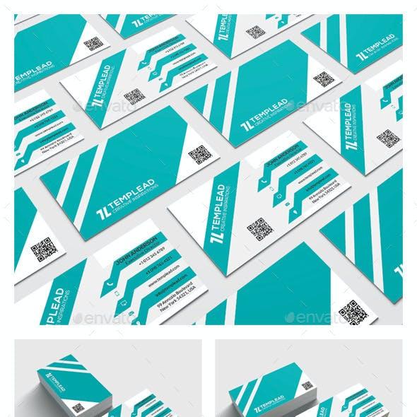 Modern Corporate Business Card HP0019