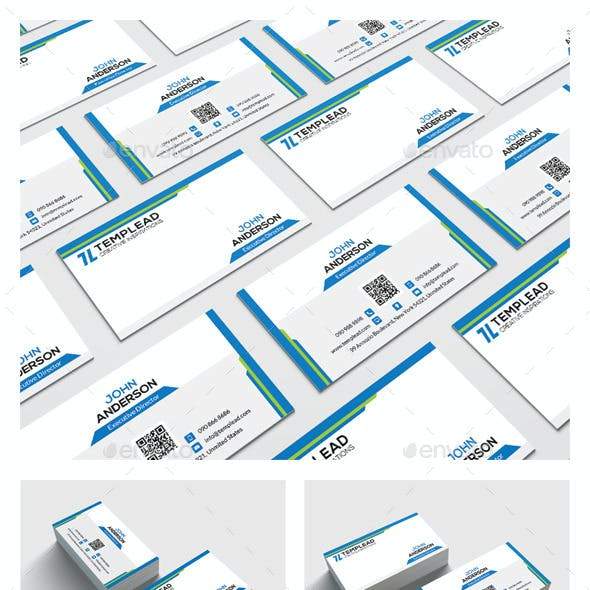 Modern Corporate Business Card HP0020