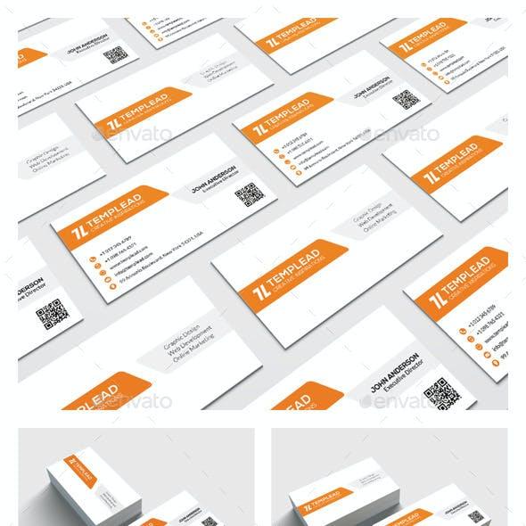Modern Corporate Business Card HP0021