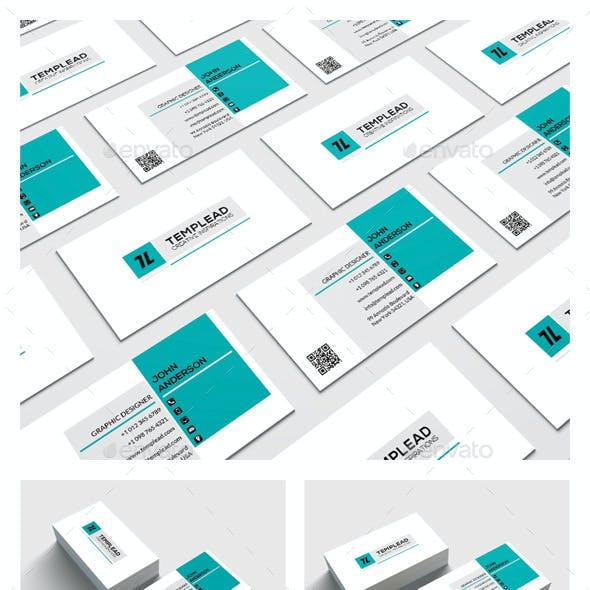 Modern Corporate Business Card HP0023