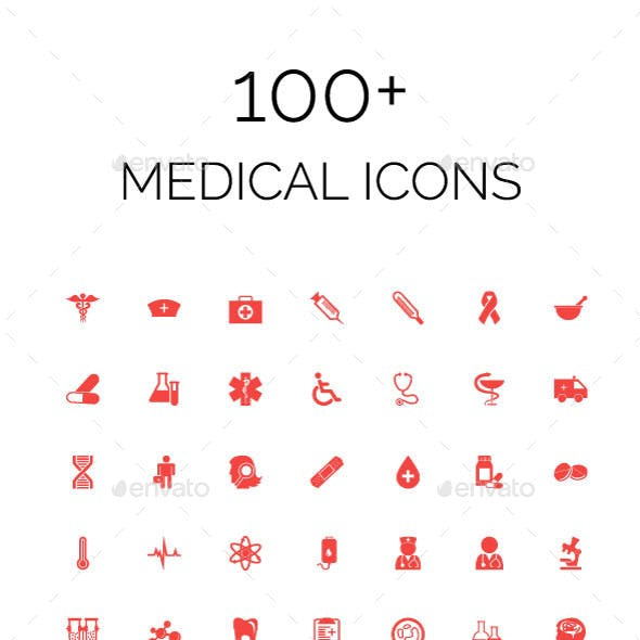 100+ Medical Icons