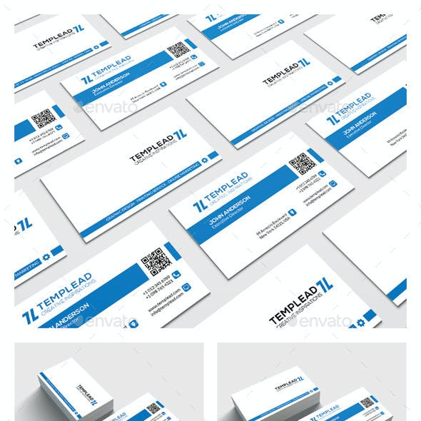 Modern Corporate Business Card HP0024