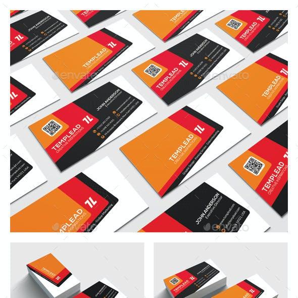 Modern Corporate Business Card HP0026
