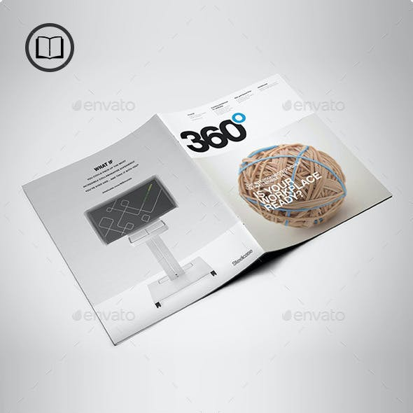 US Letter Brochure / Catalog Mock-Up