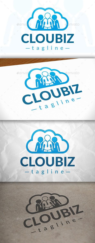 Cloud Team Logo - Symbols Logo Templates