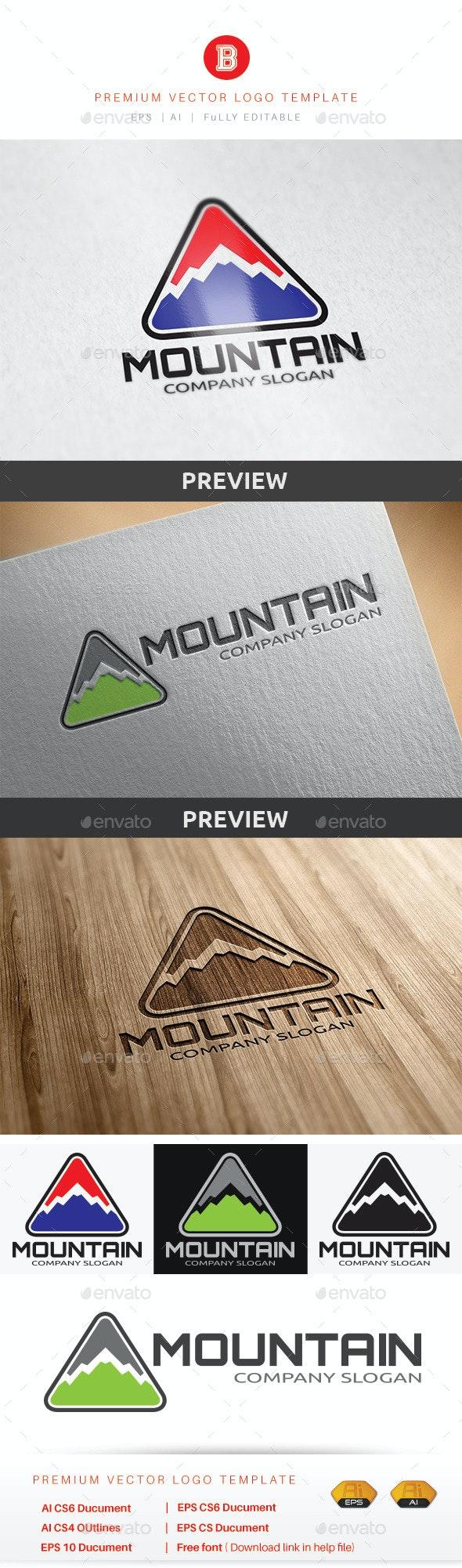 Mountain V.3 - Nature Logo Templates