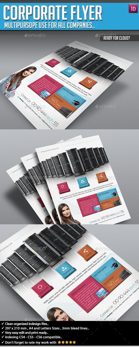 Corporate Flyer - Ready for Cloud? - Corporate Flyers