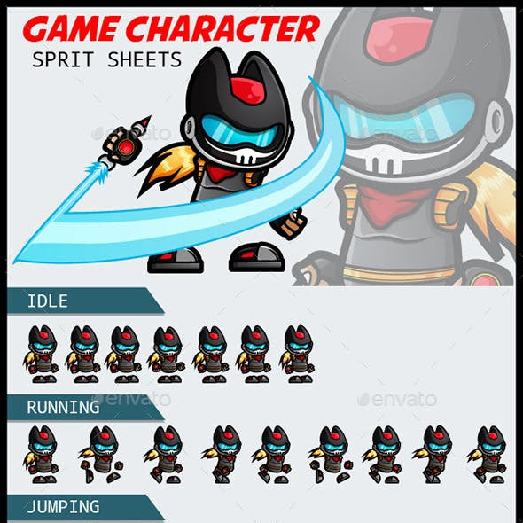 Game Character Spritesheets