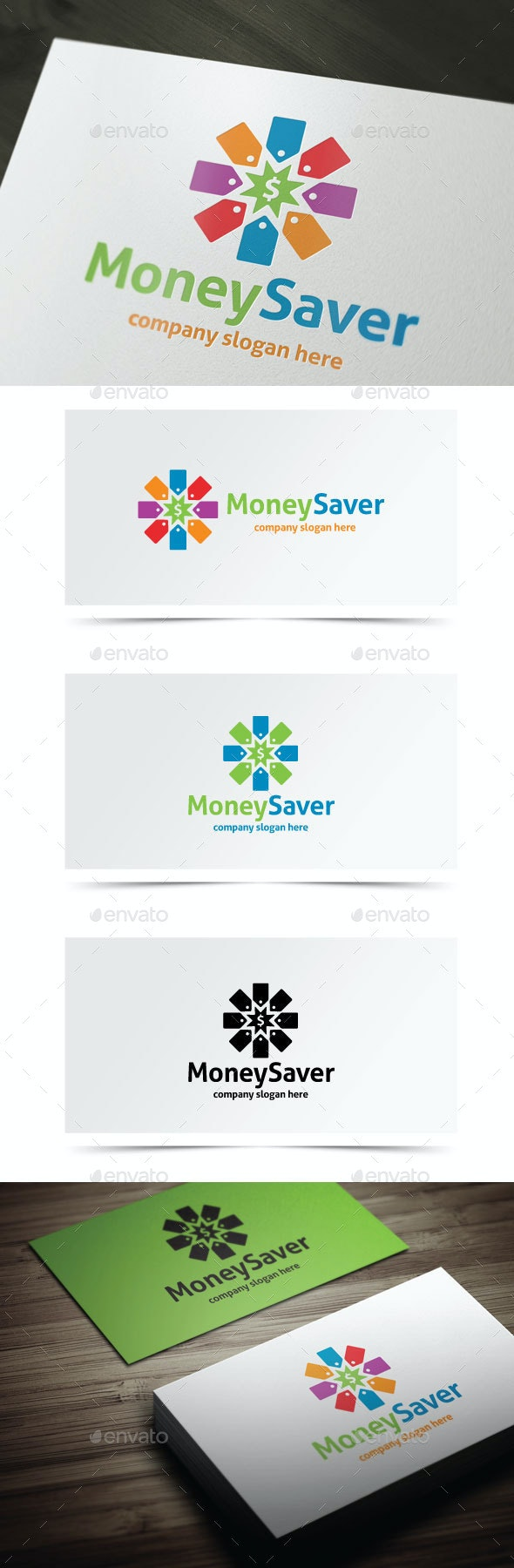 Money Saver - Objects Logo Templates