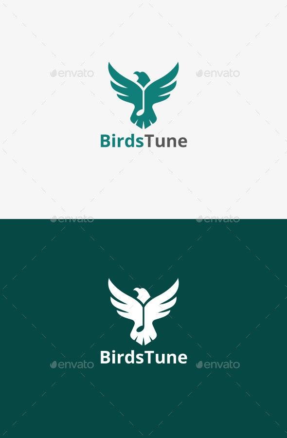 Music Bird Logo - Animals Logo Templates