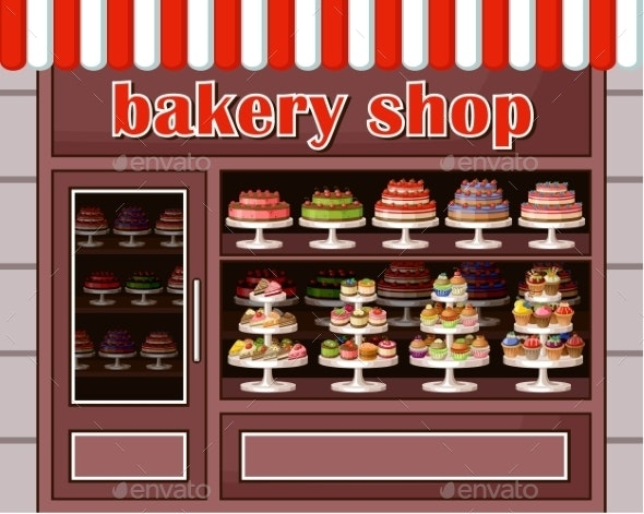 Store of Sweets and Bakery.  - Food Objects