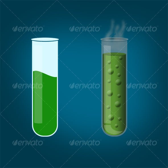 Realistic Test Tube 2.0 and simple tube
