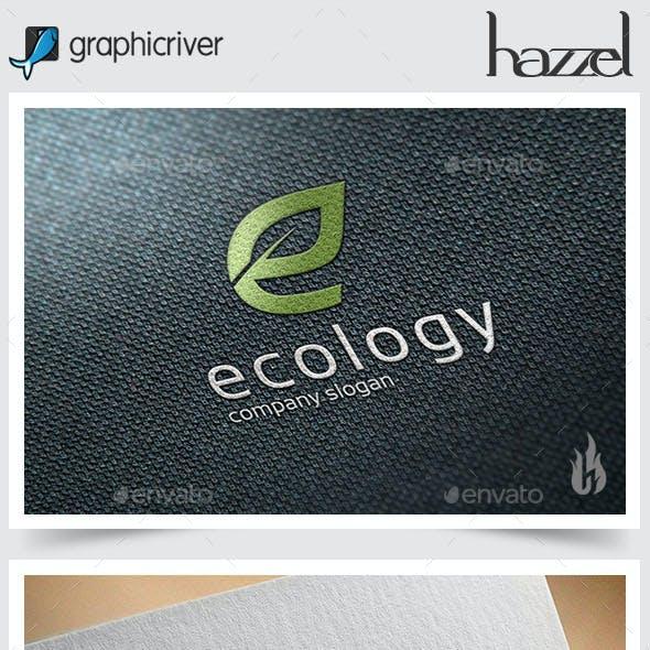 Ecology - Letter E Logo