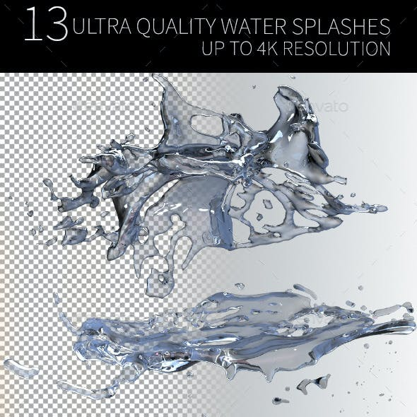 Ultra Quality Water Splash