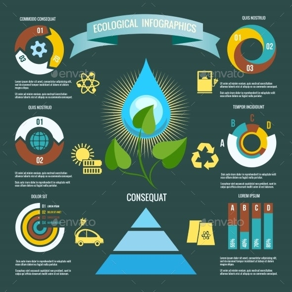 Ecology Infographic - Miscellaneous Vectors