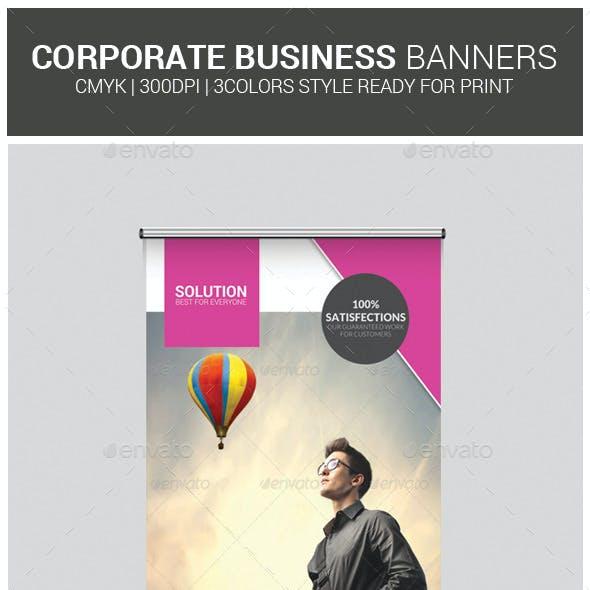 Business Roll-up Banner Psd Template