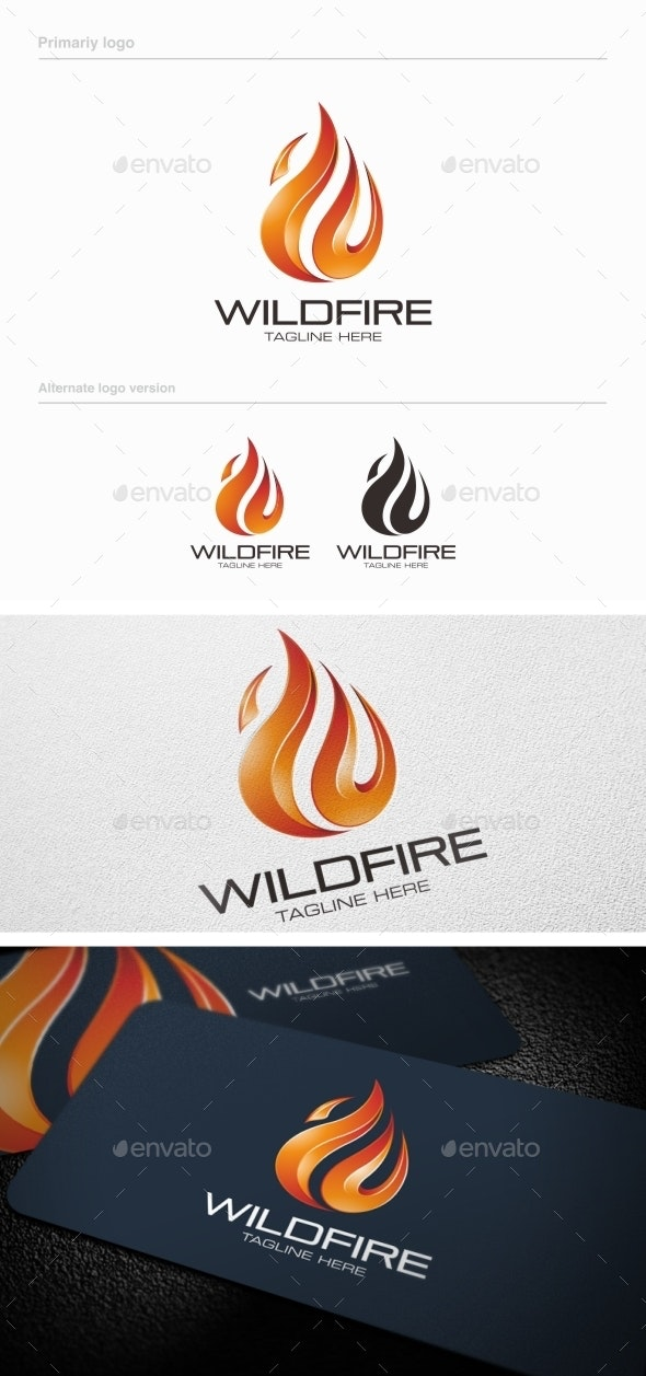 Wildfire - Logo Template - Symbols Logo Templates