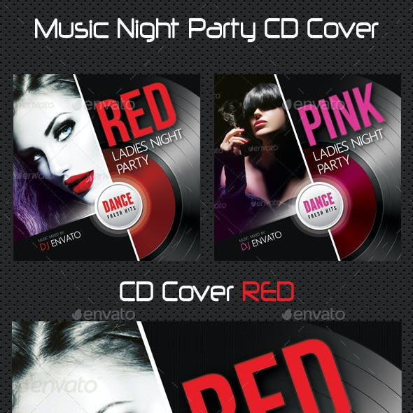 Music Night Party CD Cover 14