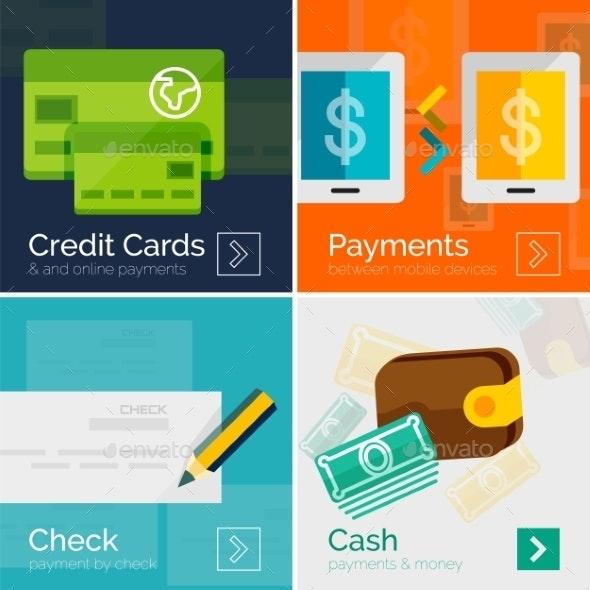 Payment Online Concept - Web Technology