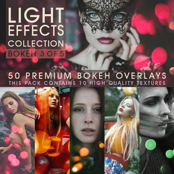 Bokeh Overlays Vol.3