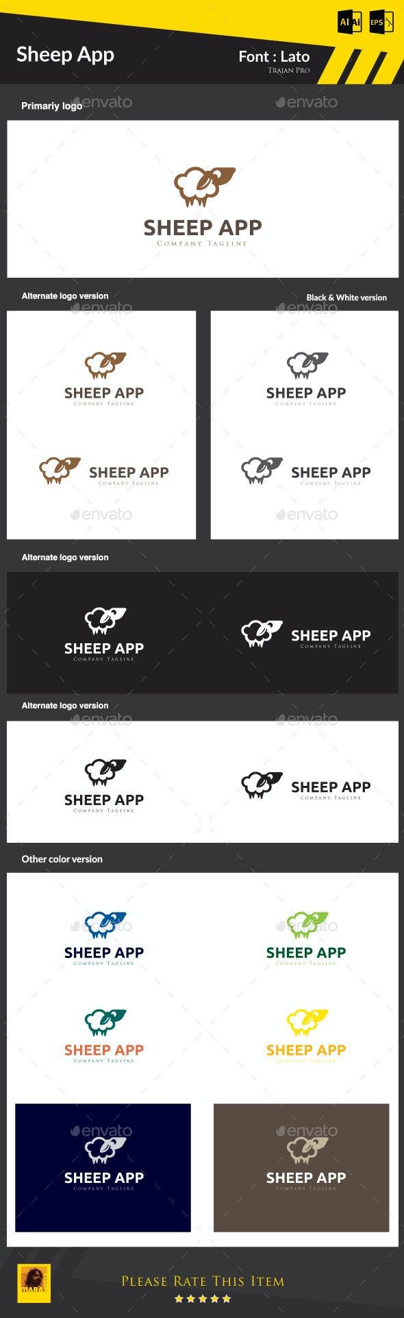 Supper App - Animals Logo Templates
