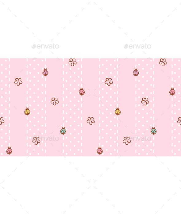 Pink Background - Patterns Decorative