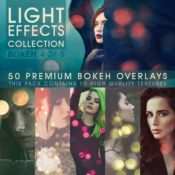 Bokeh Overlays Vol.4