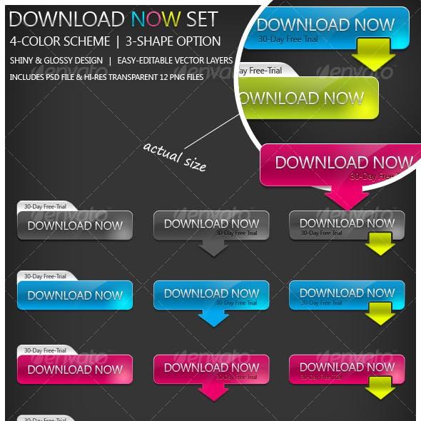 Download Now Button Set