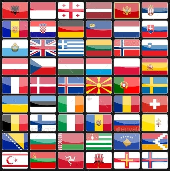 Flags - Travel Conceptual