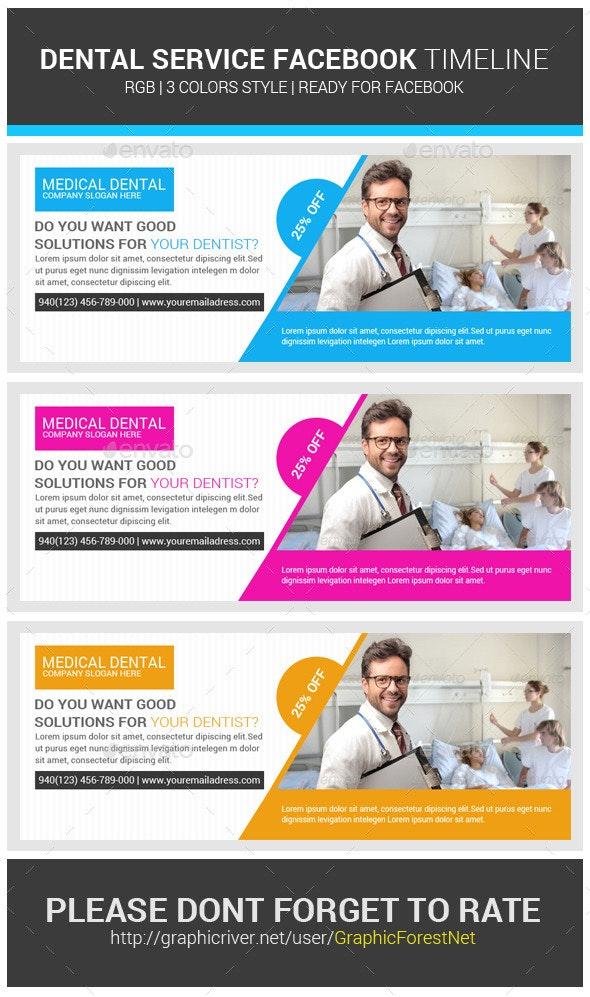 Medical Dental Health FB Covers Psd - Facebook Timeline Covers Social Media