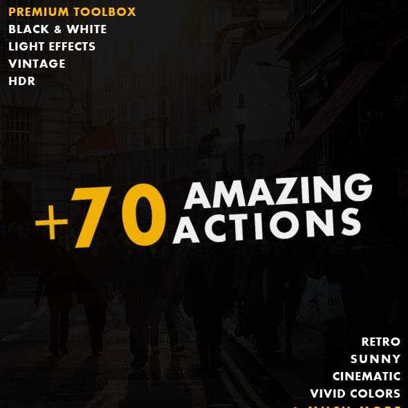 70+ Actions