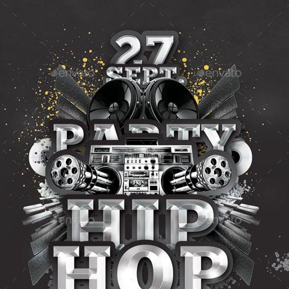 Hip Hop Special Party In Club