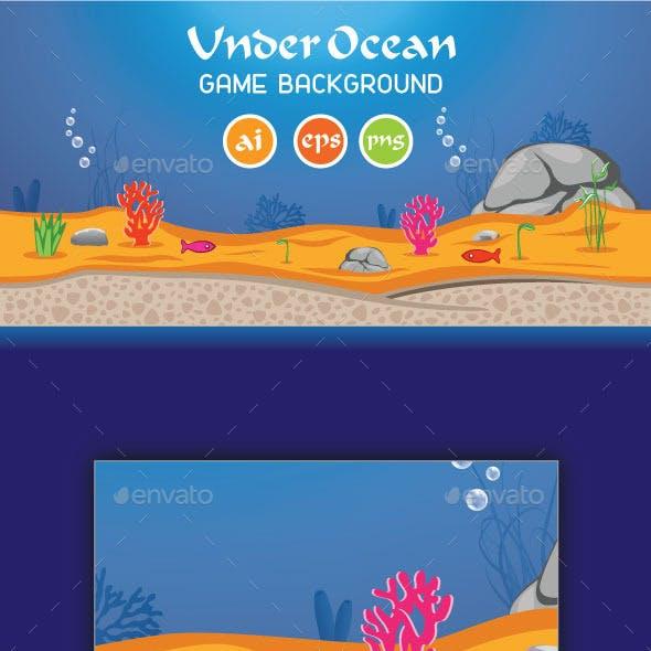 Under Ocean Game Background