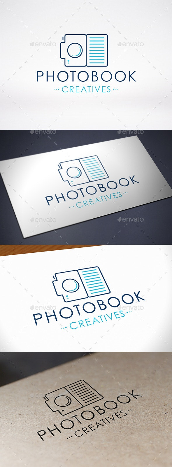 Photo Book Logo Template - Objects Logo Templates