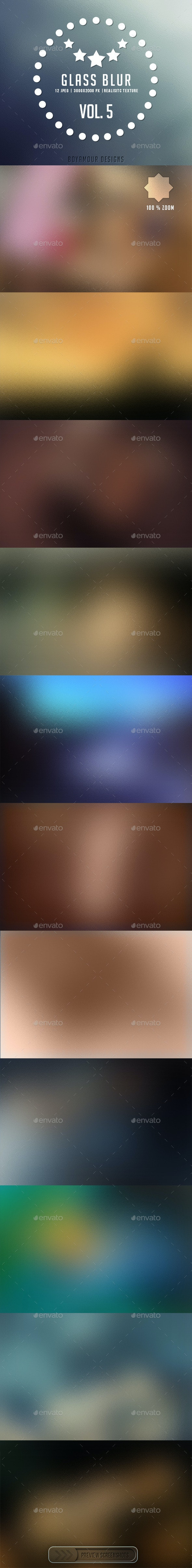 Glass Blur Vol 5 NG - Backgrounds Graphics
