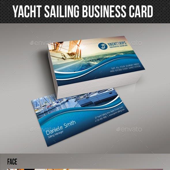 Yacht Sailing Business Card 01