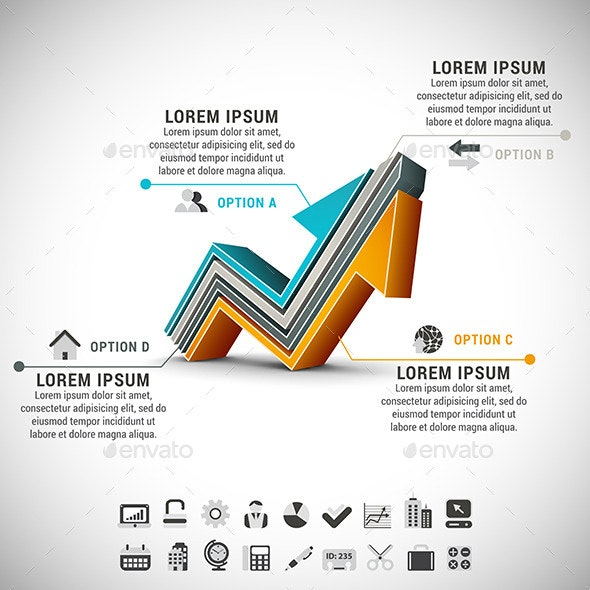 28 Best Make your own Infographics with GraphicRiver for March 2019