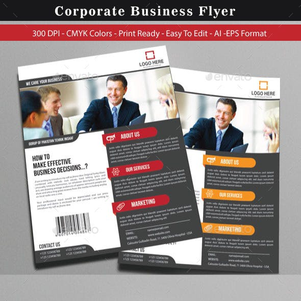 Corporate Flyer For Business