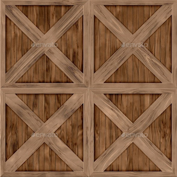 Wood Crate Generated Hires Texture - Wood Textures