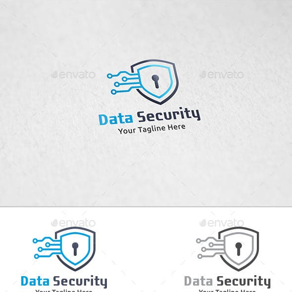 Data Security - Logo Template