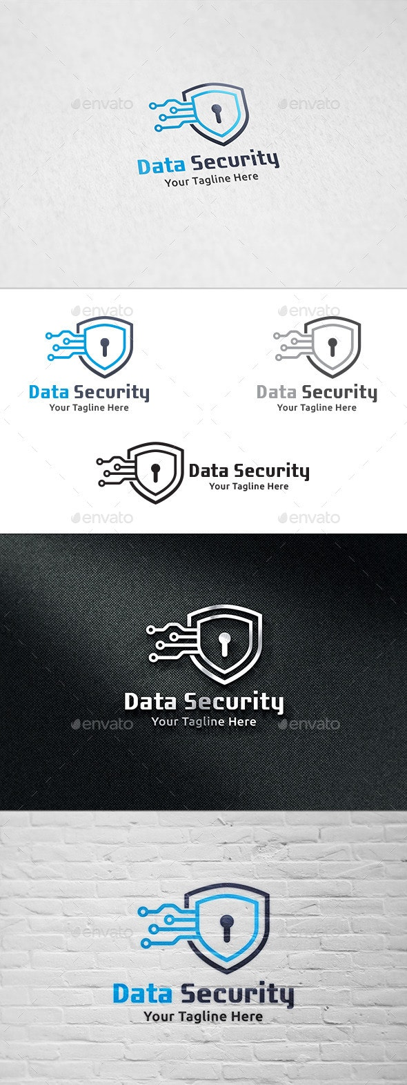 Data Security - Logo Template - Symbols Logo Templates