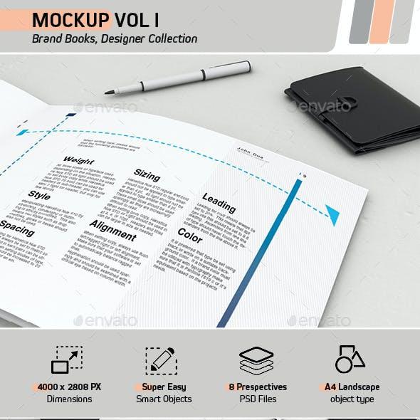 Mockup Vol 1 - Brand Books