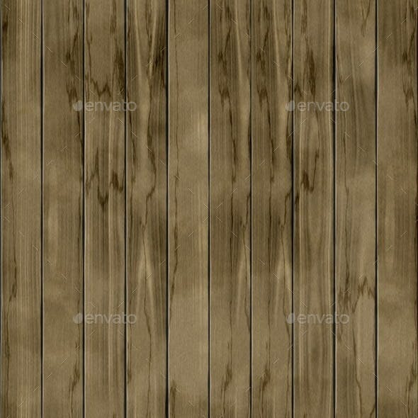 Wood Fence Seamless Generated Texture