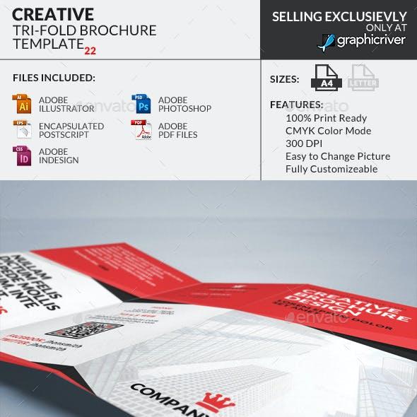 Trifold Brochure 22 : Creative