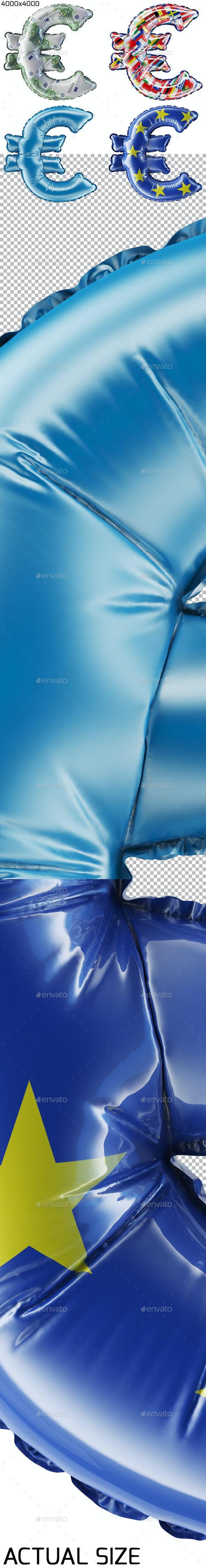 Euro Balloon - 3D Backgrounds