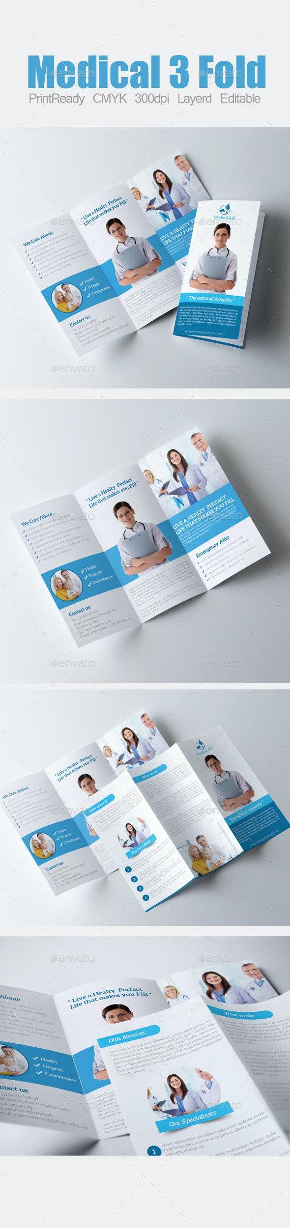 3 Fold Business Brochure - Corporate Brochures
