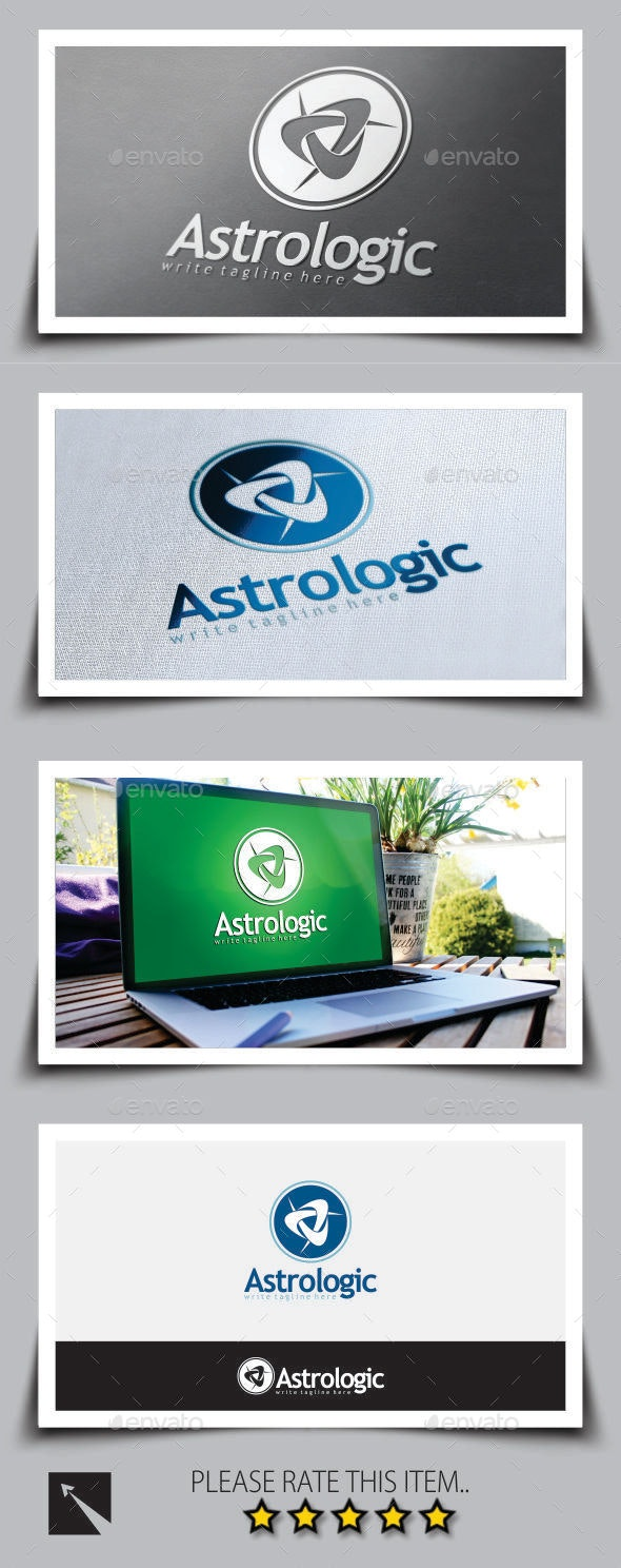 Astrology Logo Template - Abstract Logo Templates